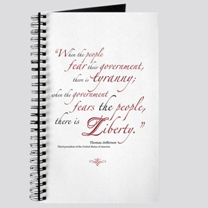 Fear or Liberty Journal