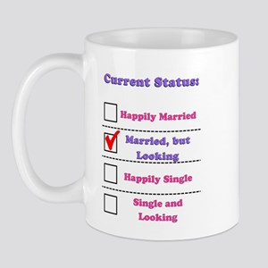 Married, but Looking Mug