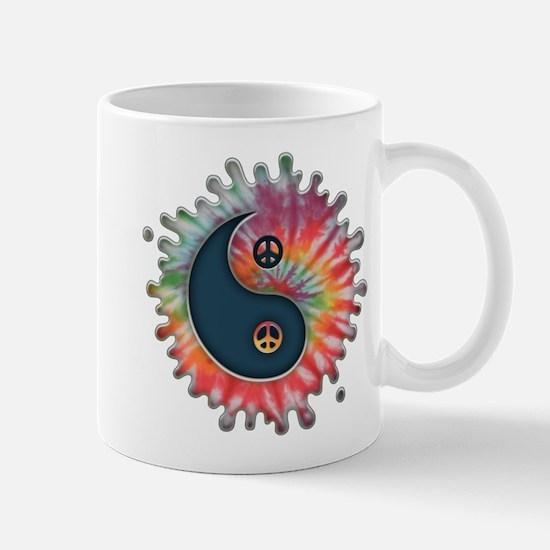 Tie-Dye Yin-Yang Mug