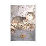 Wolf cubs in Den