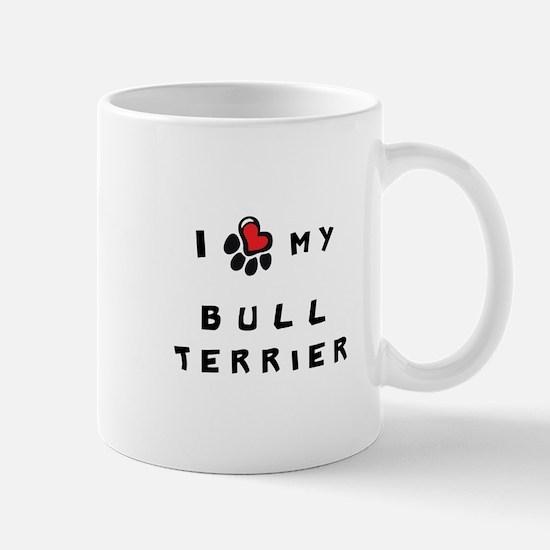 I *heart* My Bull Terrier Mug