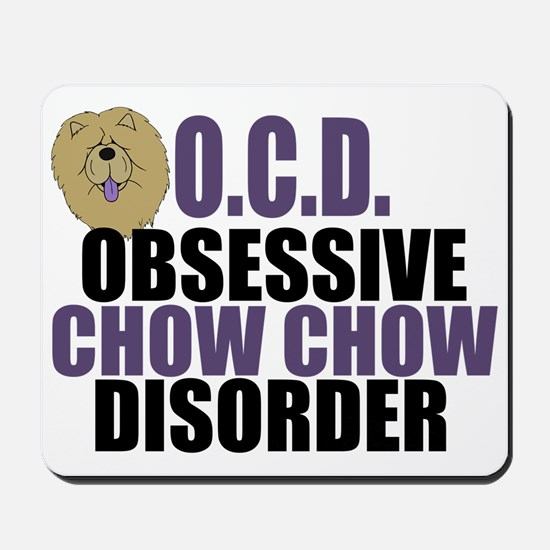 Funny Chow Mousepad