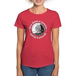 Give Them A Quarter Women's Dark T-Shirt