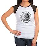 Give Them A Quarter Women's Cap Sleeve T-Shirt