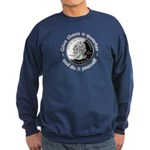 Give Them A Quarter Sweatshirt (dark)