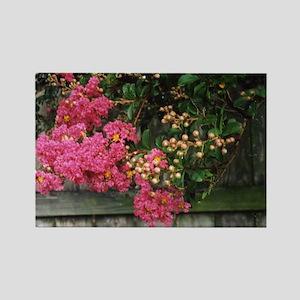 Flowering Trees Rectangle Magnet