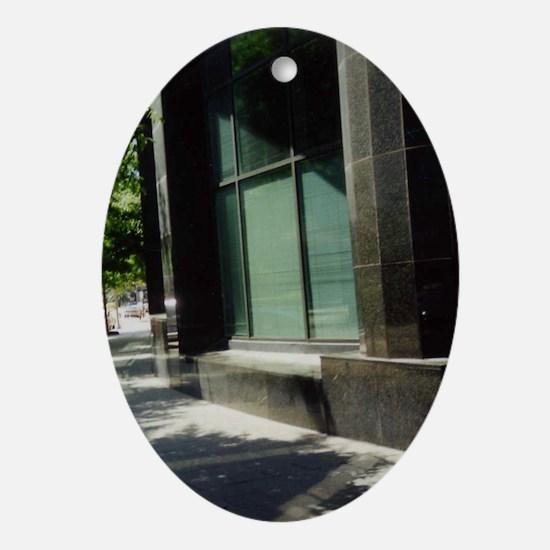 Poydras St. Oval Ornament