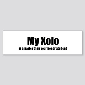 My Xolo is smarter than your Bumper Sticker