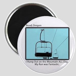 Chair Lift Blues Magnet