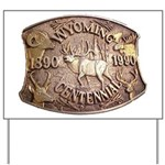WY Centennial Yard Sign