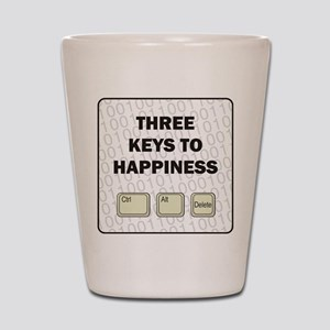 Happiness Shot Glass