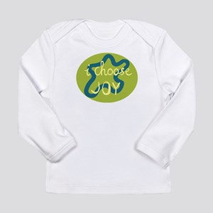 I Choose Joy - Blue Long Sleeve Infant T-Shirt