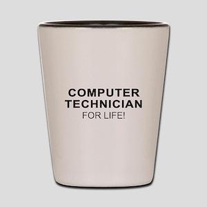 Computer Tech Shot Glass