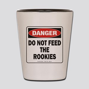 Rookies Shot Glass