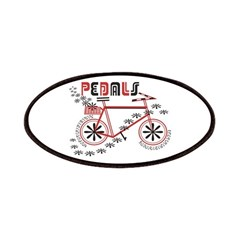 Pedals Cyclist Patches