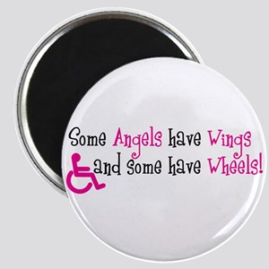 Some Angels have Wheels Magnet