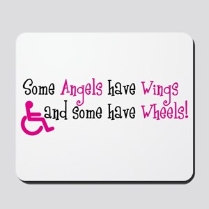 Some Angels have Wheels Mousepad
