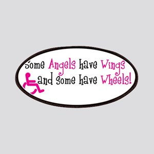 Some Angels have Wheels Patches