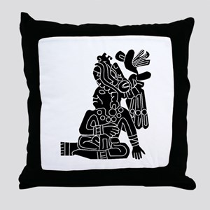 Mexican Aztec Protection Throw Pillow