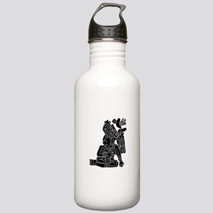 Mexican Aztec Protection Stainless Water Bottle 1.