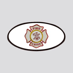 Fire Chief Maltese Patches