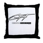 Mustang Gt Throw Pillow