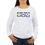 Eat - Sleep - Ren Fair Women's Long Sleeve T-Shirt