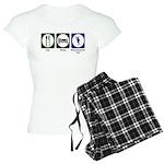 Eat - Sleep - Ren Fair Women's Light Pajamas