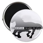 Mustang Horse Magnet