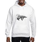 Mustang Horse Hooded Sweatshirt