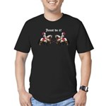 Joust Do It Men's Fitted T-Shirt (dark)