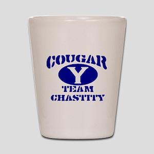 COUGAR TEAM CHASTITY MORMON S Shot Glass