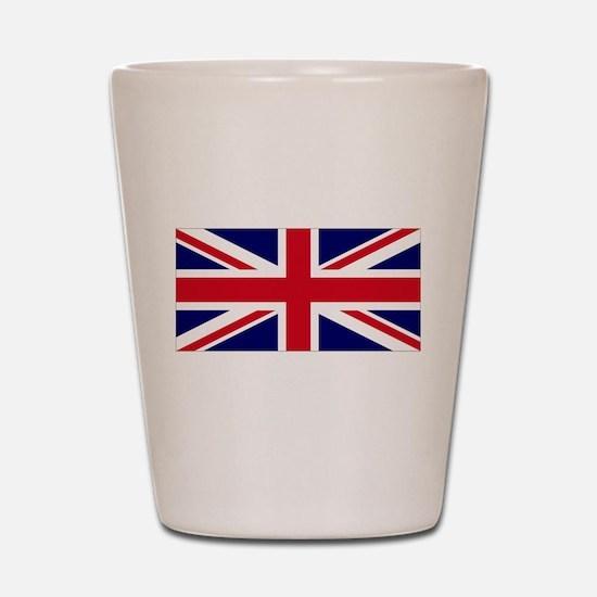 ENGLAND FLAG, GREAT BRITAIN F Shot Glass