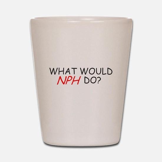 WHAT WOULD NPH DO SHIRT NEIL Shot Glass