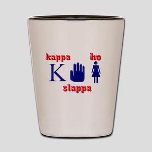 FUNNY COLLEGE SHIRT KAPPA SLA Shot Glass