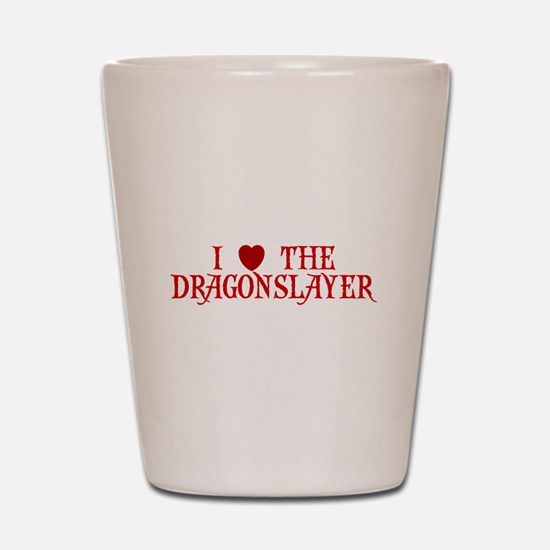 I LOVE COACH I LOVE THE DRAGO Shot Glass