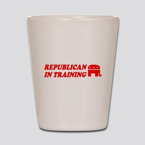 REPUBLICAN IN TRAINING BABY C Shot Glass