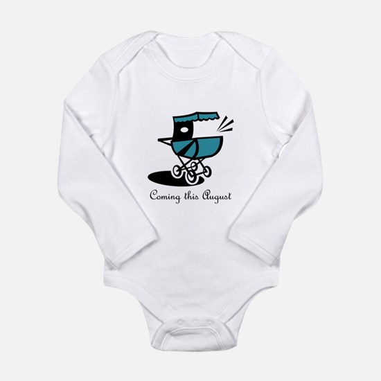 Coming This August Long Sleeve Infant Bodysuit