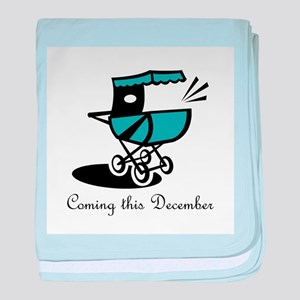Coming This December baby blanket