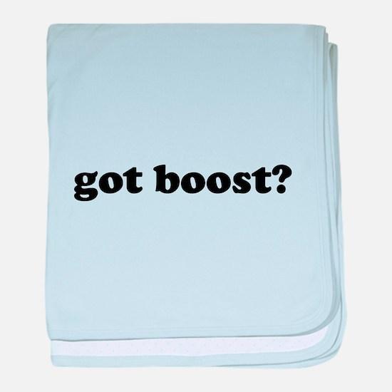 got boost? baby blanket
