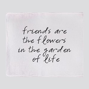 Garden Of Life Throw Blanket