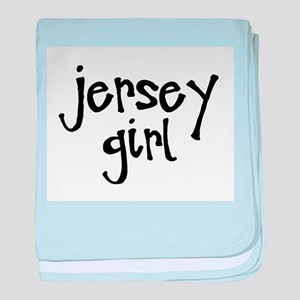 Jersey Girl baby blanket