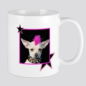 Rock Star Chihuahua Mug