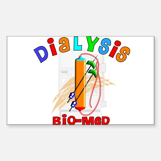 Dialysis Sticker (Rectangle)