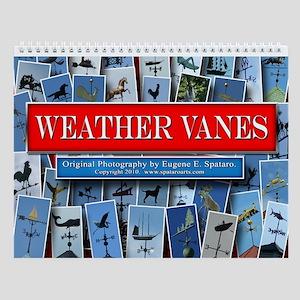 Weather Vanes Wall Calendar