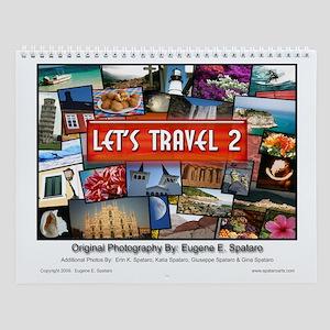 Let's Travel 2 - Wall Calendar