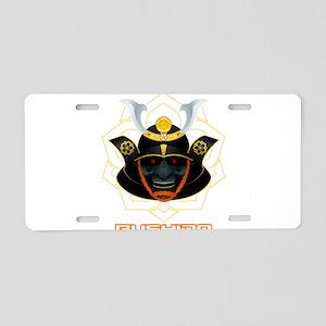 demon samurai Aluminum License Plate