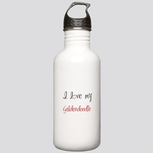 I Love My Goldendoodle Stainless Water Bottle 1.0L