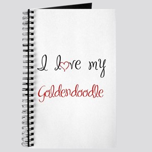 I Love My Goldendoodle Journal