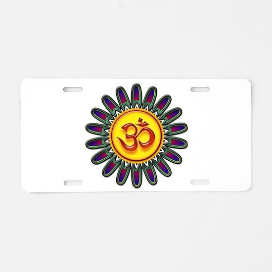Cute Inner peace Aluminum License Plate